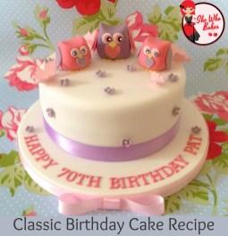 Birthday Cake Recipes Classic Madeira Birthday Cake Recipe She Who Bakes