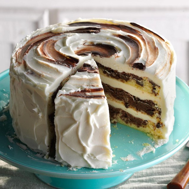 Birthday Cake Recipes Marvelous Marble Cake Recipe Taste Of Home