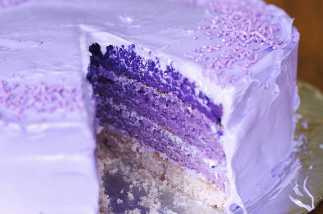 Birthday Cake Recipes Purple Birthday Cake Recipe Makebetterfood