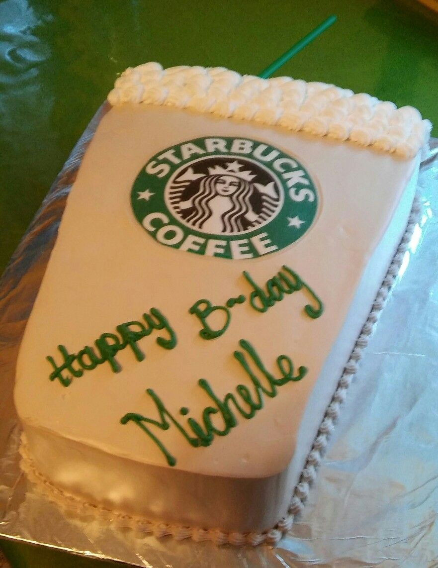 Birthday Cake Starbucks Mis Creaciones In 2018 Pinterest