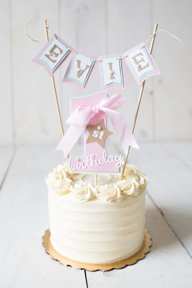 Birthday Cake Toppers For Adults Girl First Birthday First Birthday Decorations 1st Birthday Cake