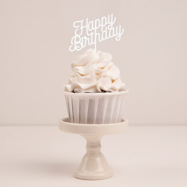 Birthday Cake Toppers Happy Birthday Cupcake Topper