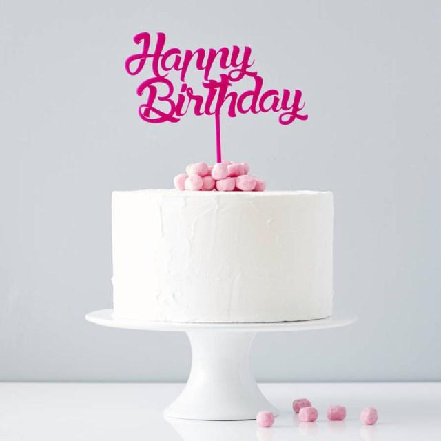 Birthday Cake Toppers Personalised Birthday Cake Topper Sophia Victoria Joy
