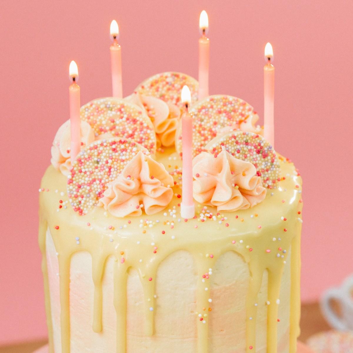 Birthday Cakes Birthday Cake Hack Recipe Tastemade