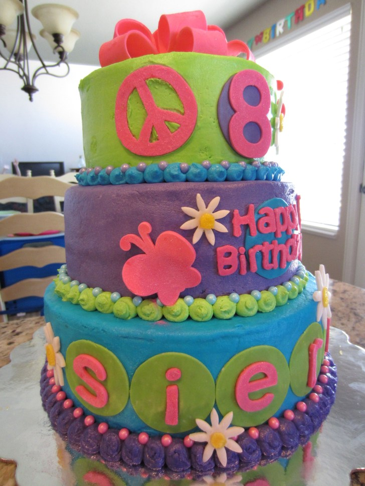 25 Beautiful Photo Of Birthday Cakes For 8 Years Old Girl