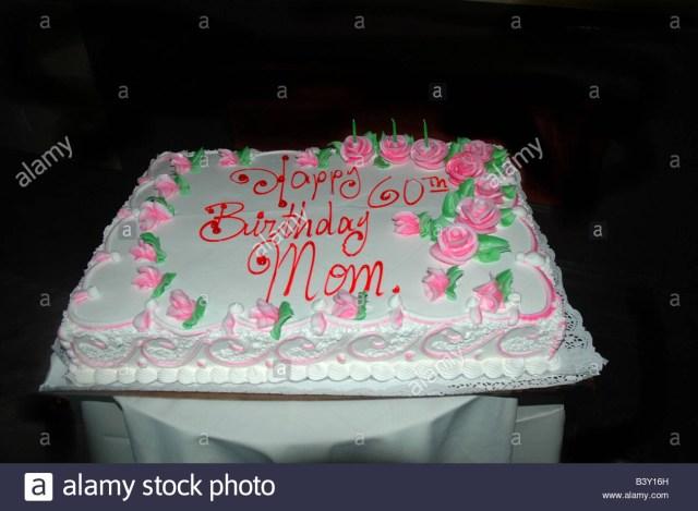 Birthday Cakes For Mom 60th Birthday Cake Stock Photos 60th Birthday Cake Stock Images