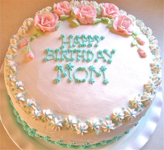 Birthday Cakes For Mom Mom Birthday Cakes