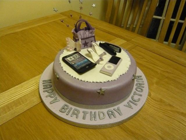 Birthday Cakes For Teenage Girl Teenage Girls Birthday Cake Cakecentral
