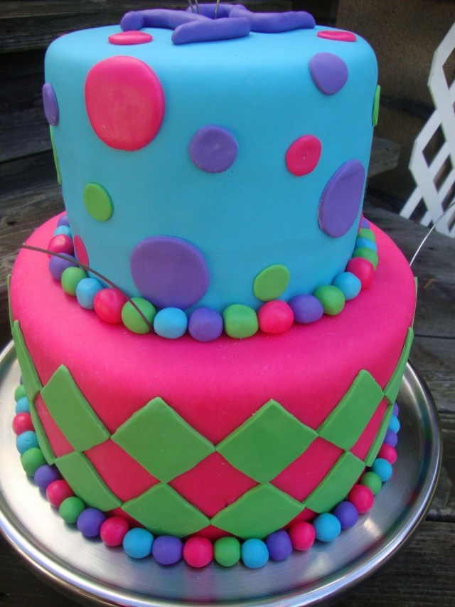 Birthday Party Cakes Cool Birthday Cake Made This Cake For A 12 Year Old Girls Birthday
