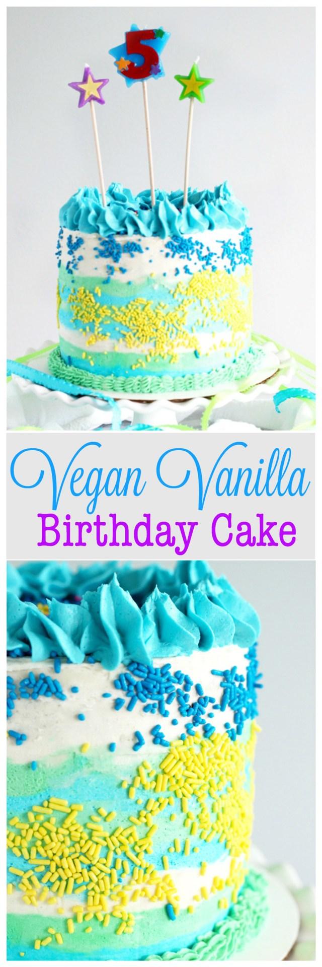 Boy Birthday Cakes Vegan Vanilla Birthday Cake Neuroticmommy