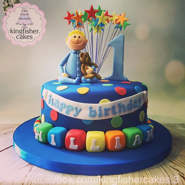 Boys 1St Birthday Cake Designs Another Cake From The Weekend A Little Boys 1st Birthday Flickr