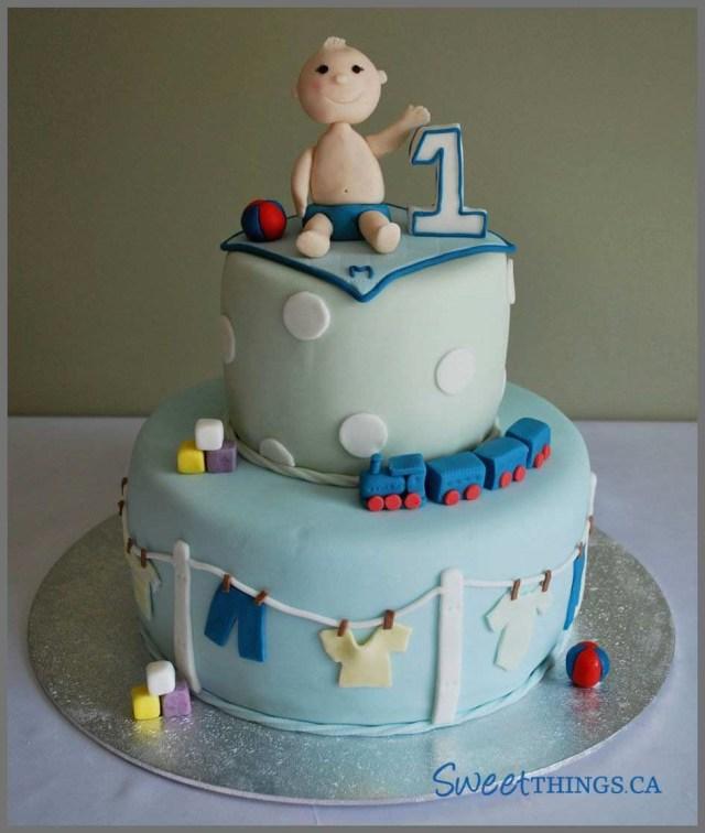 Boys 1St Birthday Cake Designs Ba 1st Birthday Cake Fresh Ba Boy 1st Birthday Cake For Landon