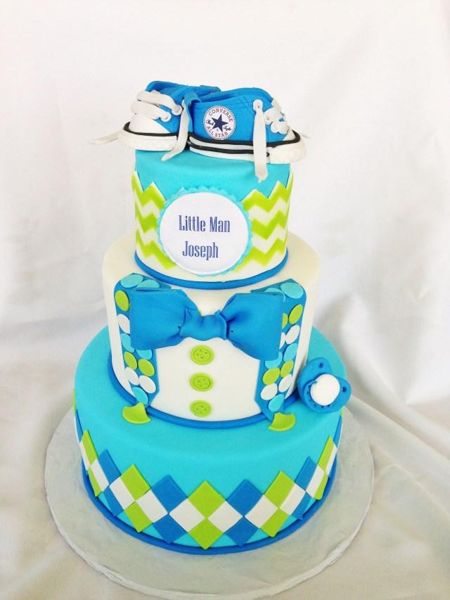 Boys First Birthday Cake Little Man 1st Birthday Cake Cakes Cupcakes Cake Pops