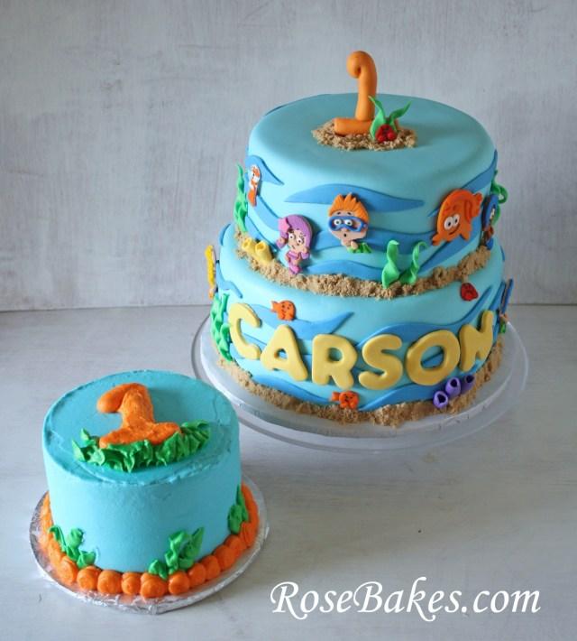 Bubble Guppies Birthday Cake 12 Bubble Guppies 1st Birthday Cakes Photo Bubble Guppies Birthday