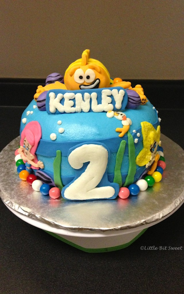 Bubble Guppies Birthday Cake 7 Bubble Guppies Birthday Party Cakes Photo Bubble Guppies