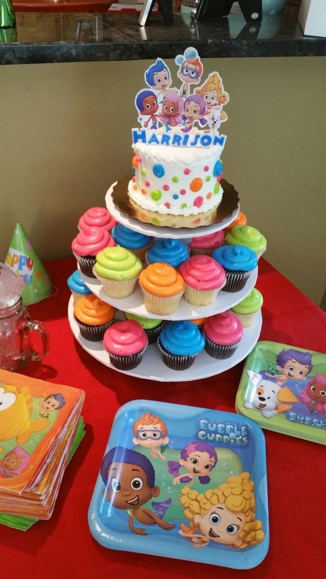 Bubble Guppies Birthday Cake Bubble Guppies Birthday Cake 2 Year Old Diy Cakes Pinterest