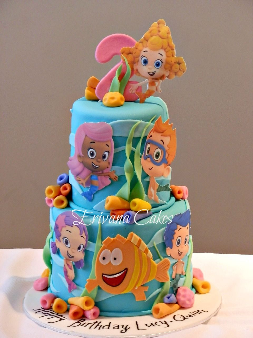 Bubble Guppies Birthday Cake Cakes And Cupcakes For Kids Party