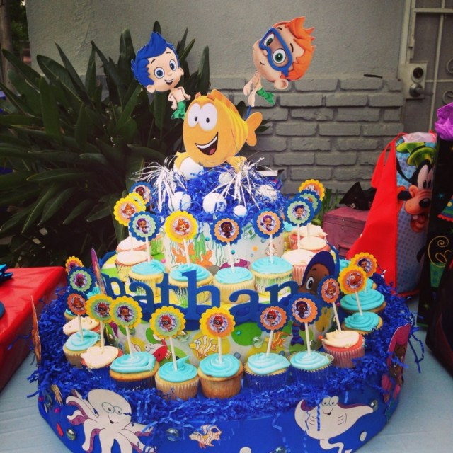 Bubble Guppies Birthday Cake Ideas Chic Party Supplies For Any Occasion