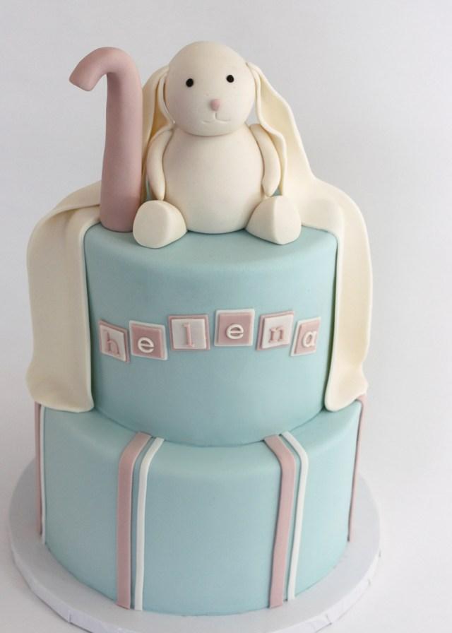 Bunny Birthday Cake Sweet Bunny Birthday Cake Village Cakecraft