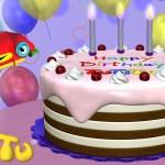 Cake Happy Birthday Tutitu Toys Happy Birthday Cake Youtube