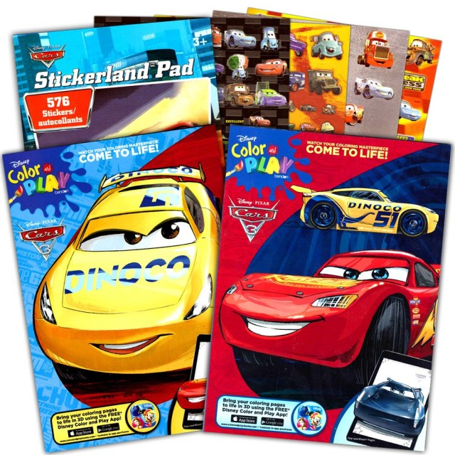 Car Coloring Pages Coloring Pages On Sale Disney Cars Coloring Book Set Books