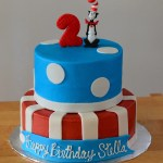 Cat In The Hat Birthday Cake Cat In The Hat Theme Cakecentral