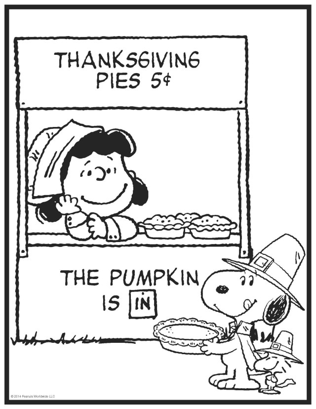 Charlie Brown Coloring Pages Thanksgiving Coloring Pages Peanuts With Charlie Brown Color Page