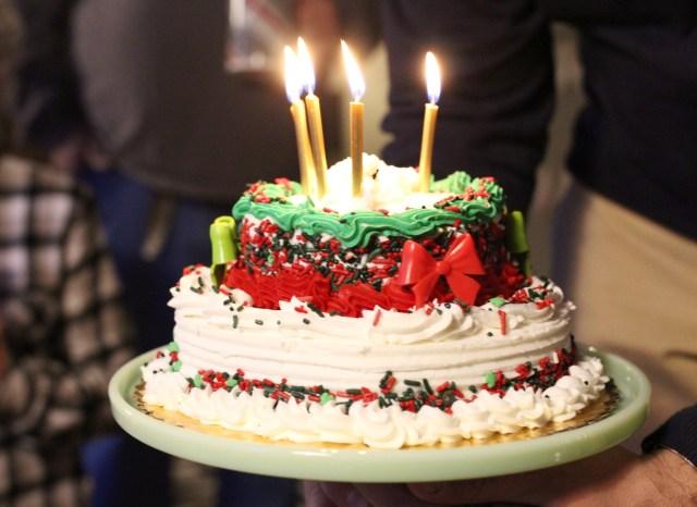 Christmas Birthday Cake Christmas Birthday Cake Tandem In Love