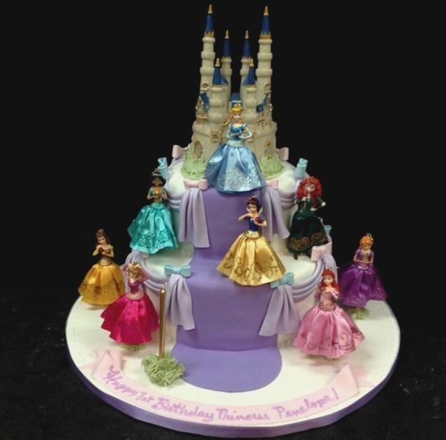 Cinderella Birthday Cakes Cinderella Birthday Cake Photos Colorfulbirthdaycakesga