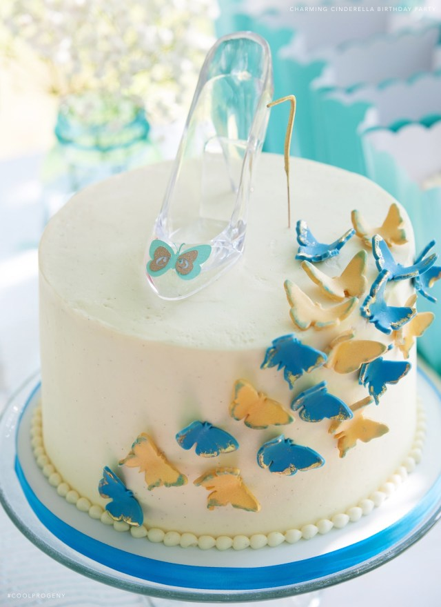 Cinderella Birthday Cakes Real Parties Charming Cinderella Birthday Party Cool Progeny