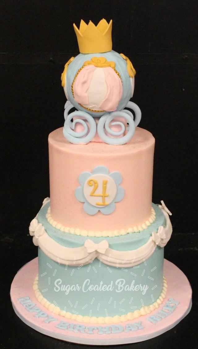 Cinderella Birthday Cakes Sugar Coated Bakery Lowell Baking Everyday Better