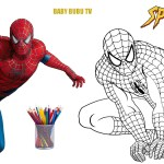 Coloring Pages Spiderman Spiderman Coloring Book Coloring Pages For Kids Youtube