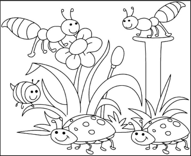 Coloring Pages Spring Perfect Springtime Printable Coloring Pages Spring Children Learning