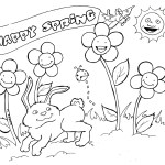 Coloring Pages Spring Spring Coloring Page Coloring Pages Spring Printable Coloring Pages