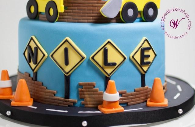 Construction Birthday Cakes Construction Birthday Cake Whipped Bakeshop Philadelphia