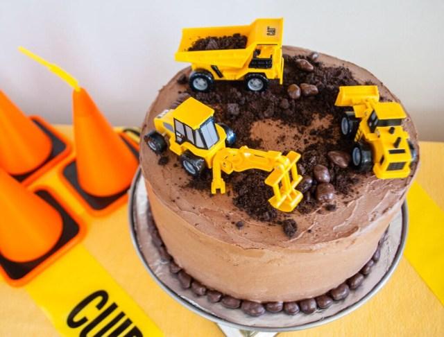 Construction Birthday Cakes Easy Construction Birthday Cake Merriment Design