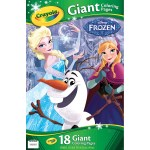Crayola Giant Coloring Pages Crayola Giant Coloring Pages Featuring Disneys Frozen 18 Pages