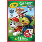 Crayola Giant Coloring Pages Crayola Giant Colouring Pages Paw Patrol With Bonus Stickers Big W