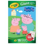 Crayola Giant Coloring Pages Crayola Giant Colouring Pages Peppa Pig With Bonus Stickers Big W