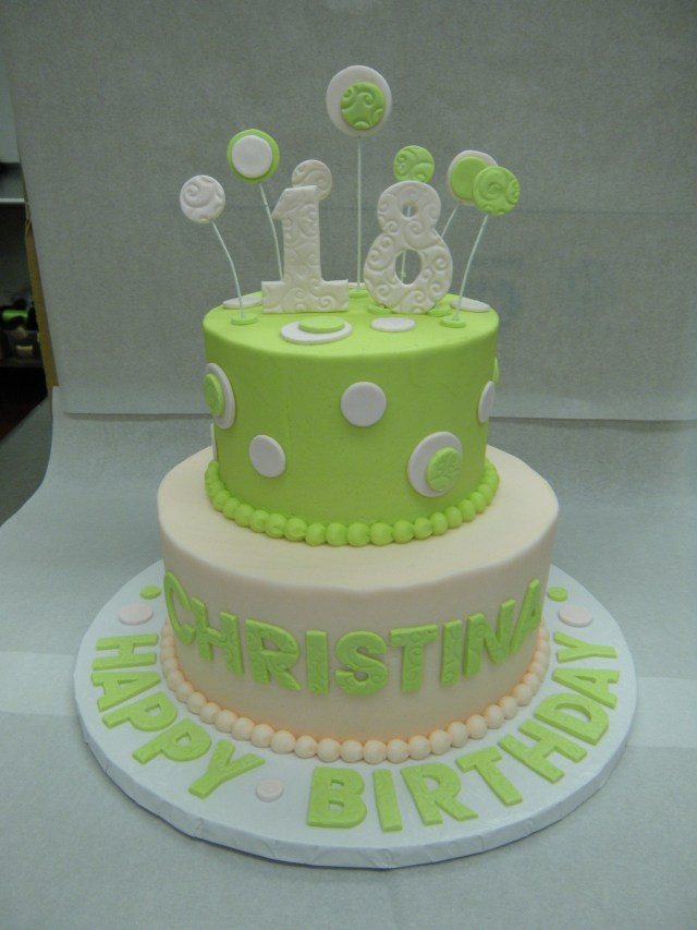 Custom Made Birthday Cakes 18th Birthday Main Made Custom Cakes