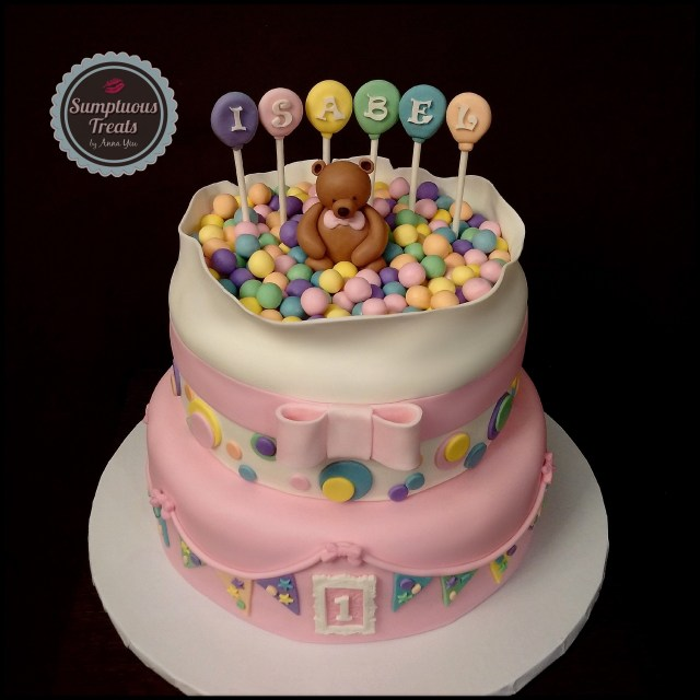 Custom Made Birthday Cakes Teddy 1st Cake To Order Desserts