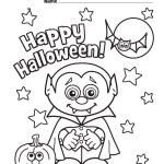 Cute Halloween Coloring Pages Cute Halloween Coloring Pages Dechome Me At Vietti