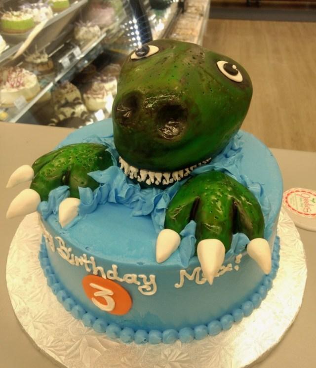 Dinosaur Birthday Cakes 3d Dinosaur Birthday Cake Made Goodies Bakery Winnipeg