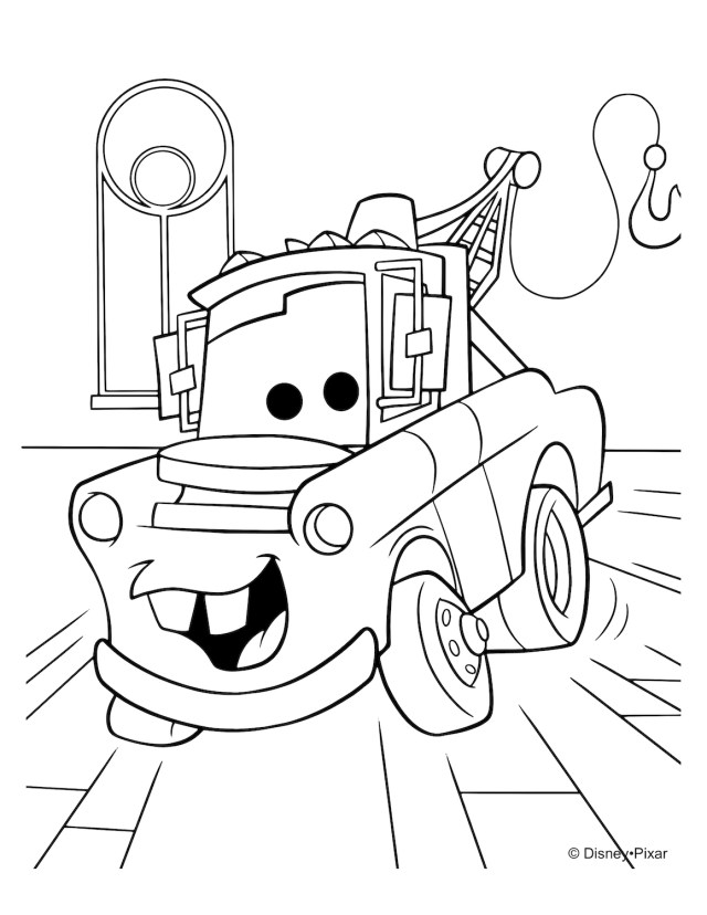 Disney Cars Coloring Pages Free Disney Cars Coloring Pages
