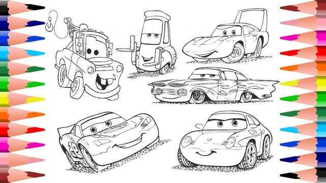 Disney Cars Coloring Pages Painting Disney Pixar Cars Coloring Disney Cars Coloring Pages