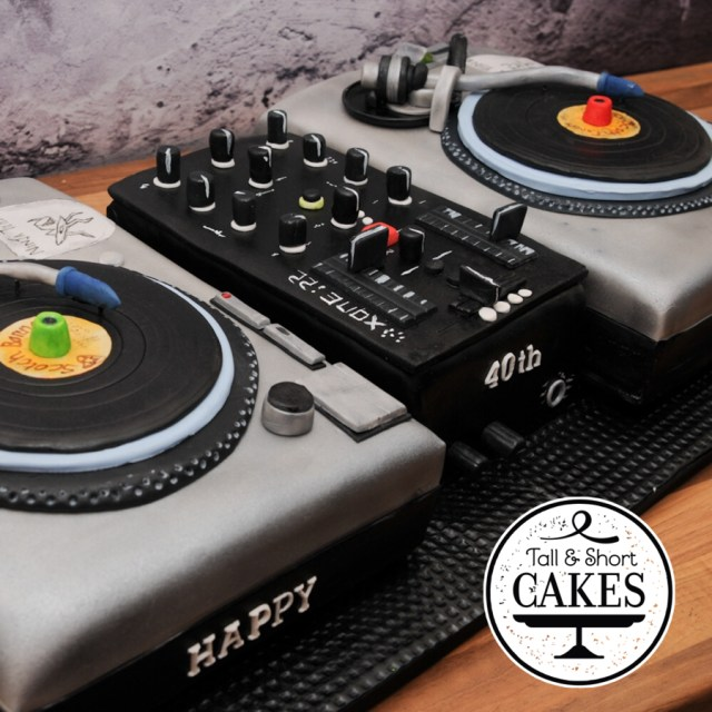 Dj Birthday Cake 12 Dj Cakes Birthday Cakes Photo Dj Birthday Cake Designs Dj