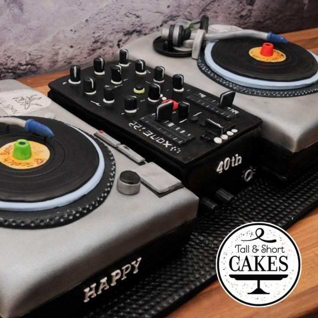 Dj Birthday Cake 12 Dj Cakes Birthday Cakes Photo Dj Birthday Cake Designs Dj