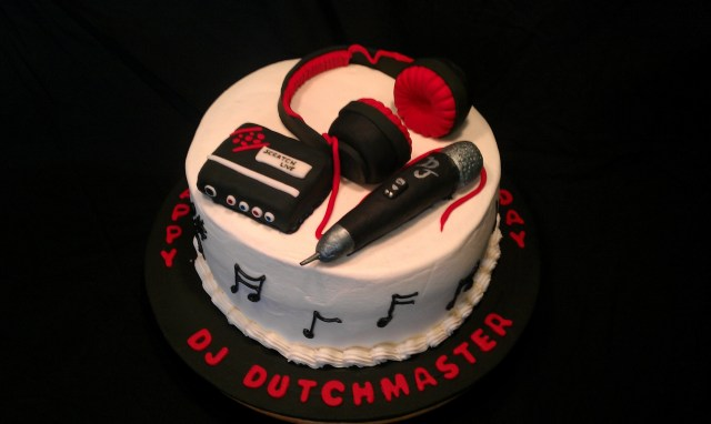 Dj Birthday Cake Dj Themed Birthday Cake Cakecentral