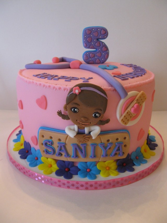 Doc Mcstuffin Birthday Cake Saniyas Doc Mcstuffins Birthday