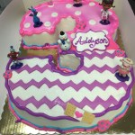 Doc Mcstuffins Birthday Cake Doc Mcstuffins Cake Shaped Numbercakes Pinterest Doc